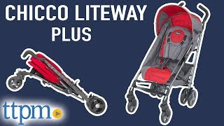 Liteway Plus Stroller Review and Instructions from Chicco