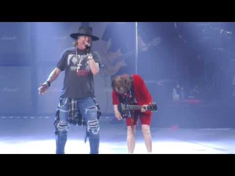 AC/DC W/Axl Rose - Shoot To Thrill (Madison Square Garden,Nyc) 9.14.16
