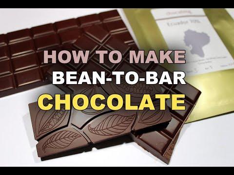 Making Bean-To-Bar Chocolate At Home