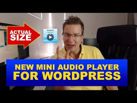 Small MP3 Audio Player For WordPress