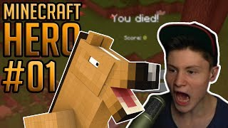Minecraft HERO #1 | DNER TOT DURCH MONSTER PFERD!! :(