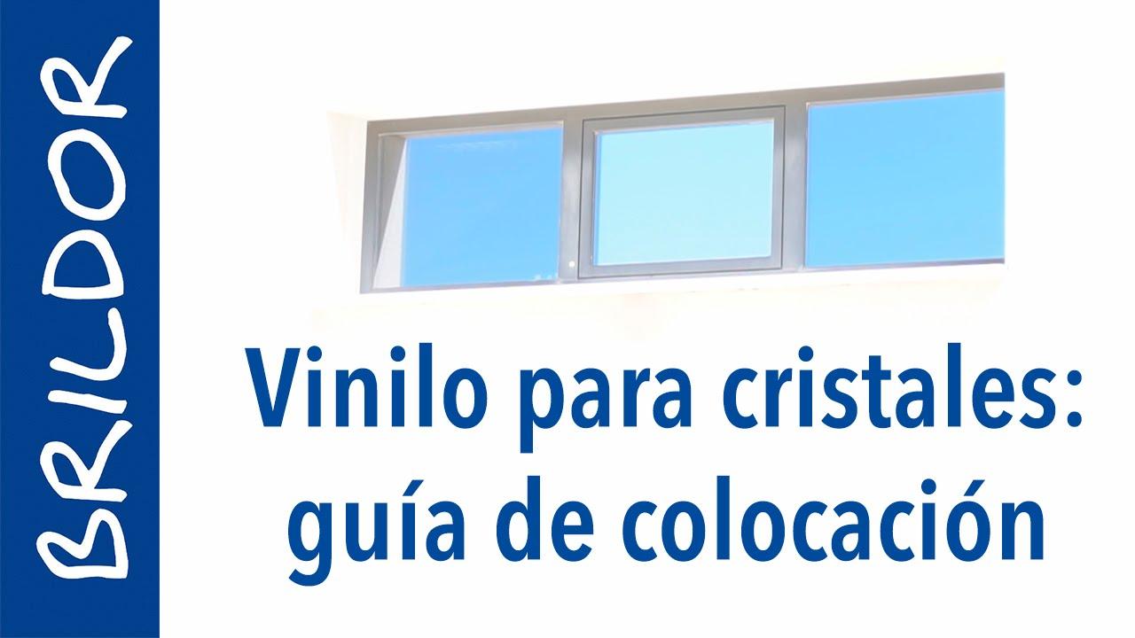 Vinilo para cristales instrucciones de colocaci n youtube - Vinilos translucidos para cristales ...