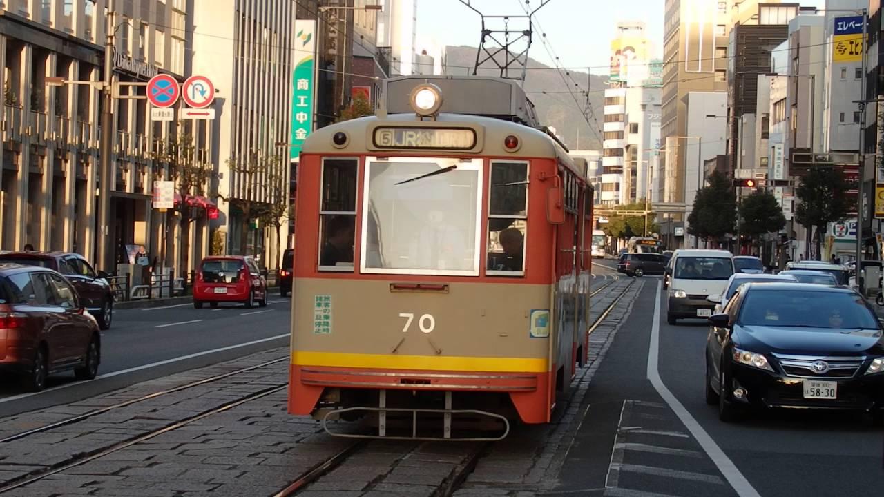 伊予鉄道松山市内線50形 大街道...