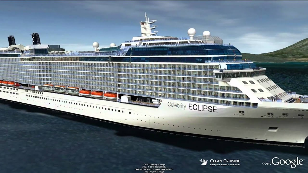 Celebrity Eclipse Cruise Ship from Celebrity Cruise Line
