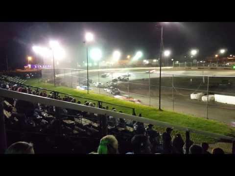 10-01-16 Peoria Speedway Steel Block feature 1st 10 laps