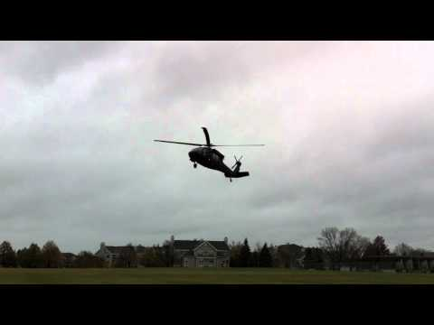 Blackhawk Helicopter @ Oak Grove Middle School in Bloomington, MN