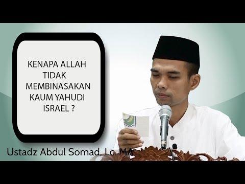 Kenapa Allah Tidak Musnahkan Bangsa Yahudi Israel - Ustad Abdul Somad Lc MA (Full HD)