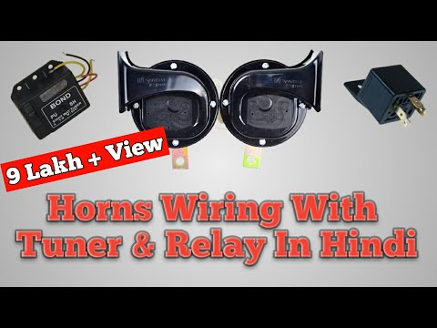 Melody Maker | Wiring | How To Install Horn With Relay & Tun