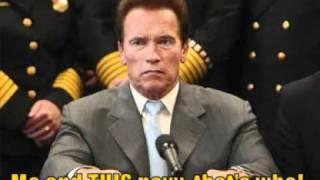 Arnold Schwarzenegger calls the US Navy