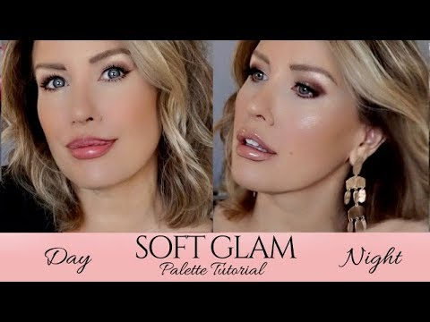 ABH SOFT GLAM Palette Day To Night Makeup Tutorial | Risa Does Makeup