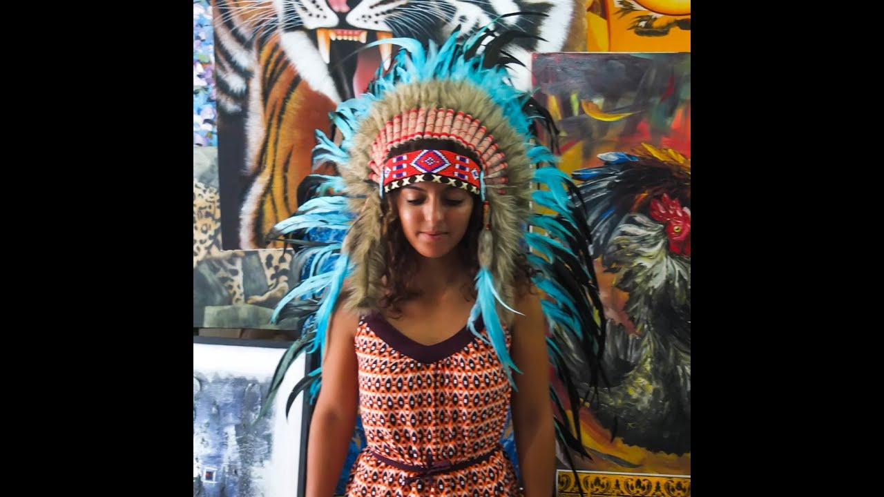 Native American Chief Headdress You Will Love - Indian Headdress - YouTube  sc 1 st  YouTube & Native American Chief Headdress You Will Love - Indian Headdress ...