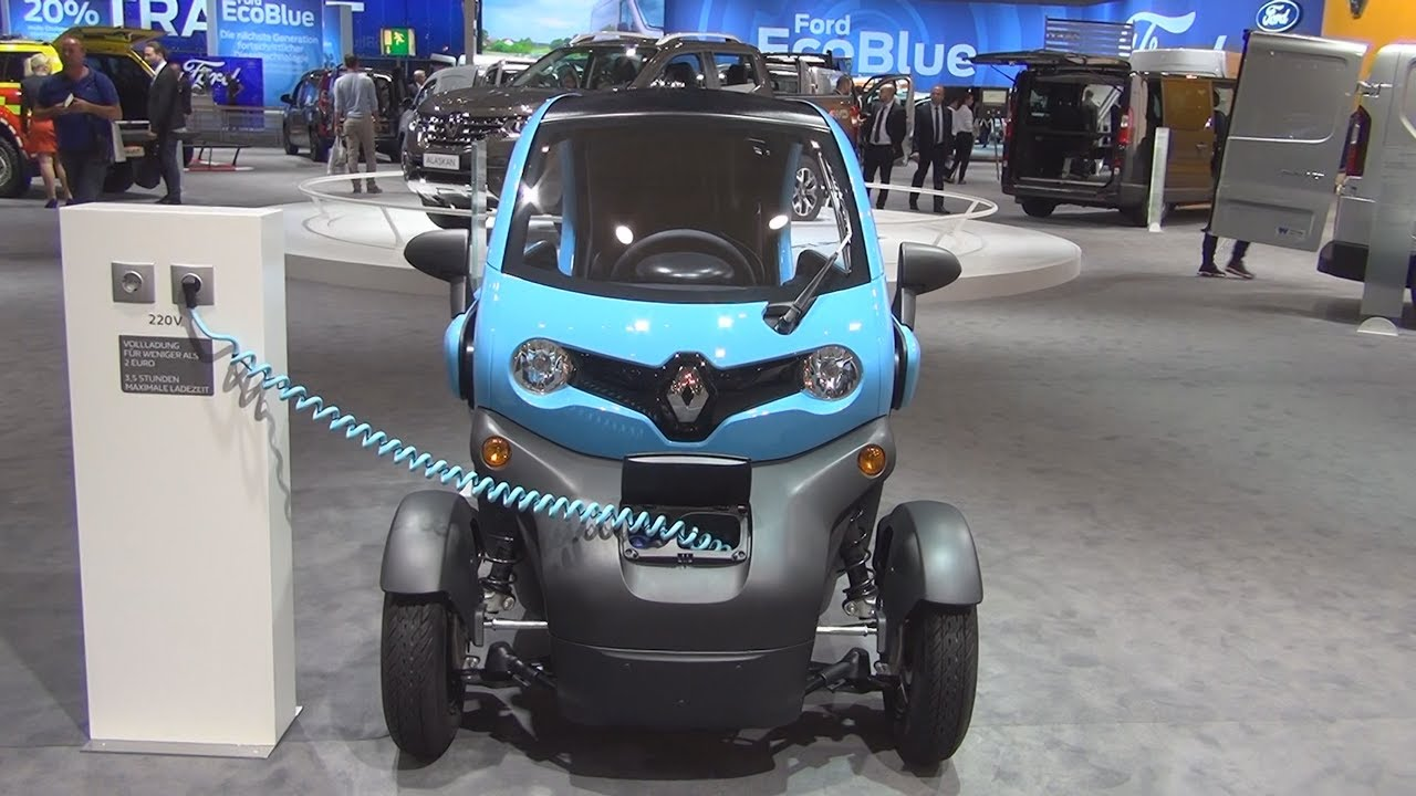 Renault Twizy Cargo 2017 Exterior And Interior In