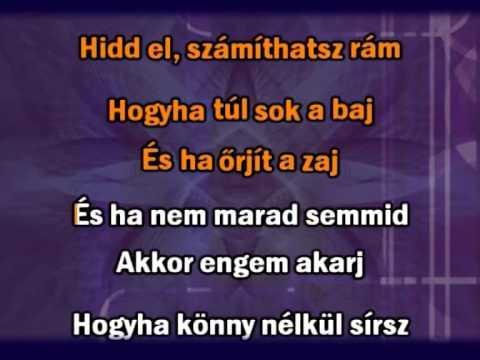 Bonanza Banzai - A jel karaoke
