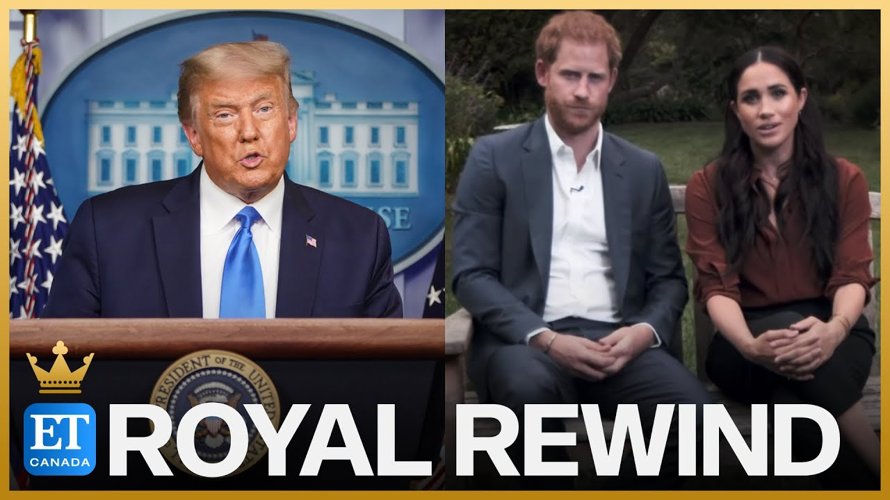 Download Royal Rewind: Donald Trump Says He's 'Not A Fan' Of Meghan Markle, Wishes Prince Harry 'Luck'