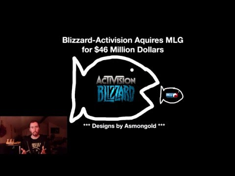 Real Talk: Blizzard-Activision Buys MLG for $46 Million Dollars
