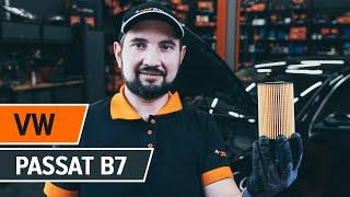 Πώς αντικαθιστούμε φίλτρο λαδιού και λάδι κινητήρα σε VW PASSAT B7 Sedan [ΟΔΗΓΊΕΣ AUTODOC]