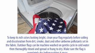 Caring for Your American Flag