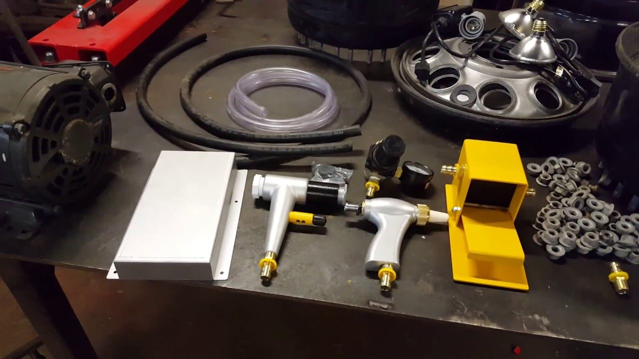 (Pt  4) HF Blast Cabinet - Upgrade Kit Install (Harbor Freight)