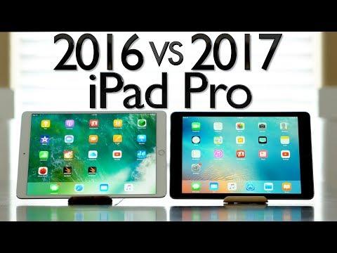 2016 vs 2017 iPad Pro Comparison - 10.5' & 12.9'