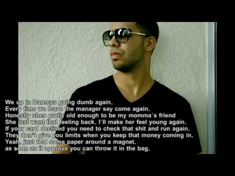 Fabolous ft drake  Throw it in the Bag rmx w lyrics