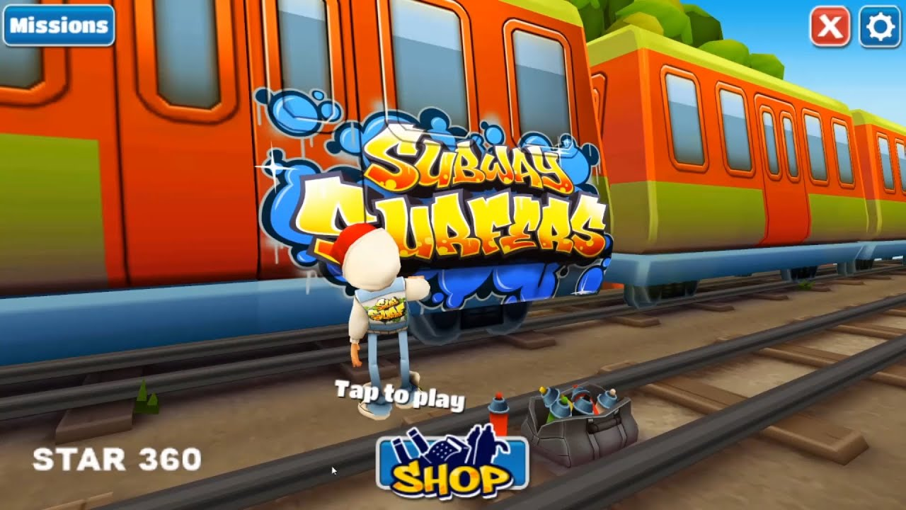 Subway Surfers Gameplay HD || Subway Surfers 2021 || Star 360