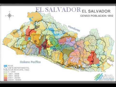Mapa de El Salvador  YouTube