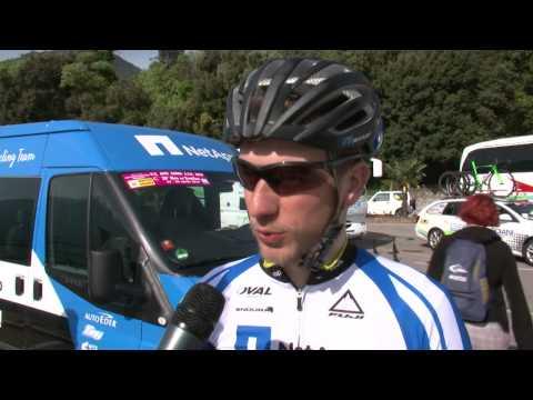 Giro d'Italia 2014: Leopold Koenig before stage2