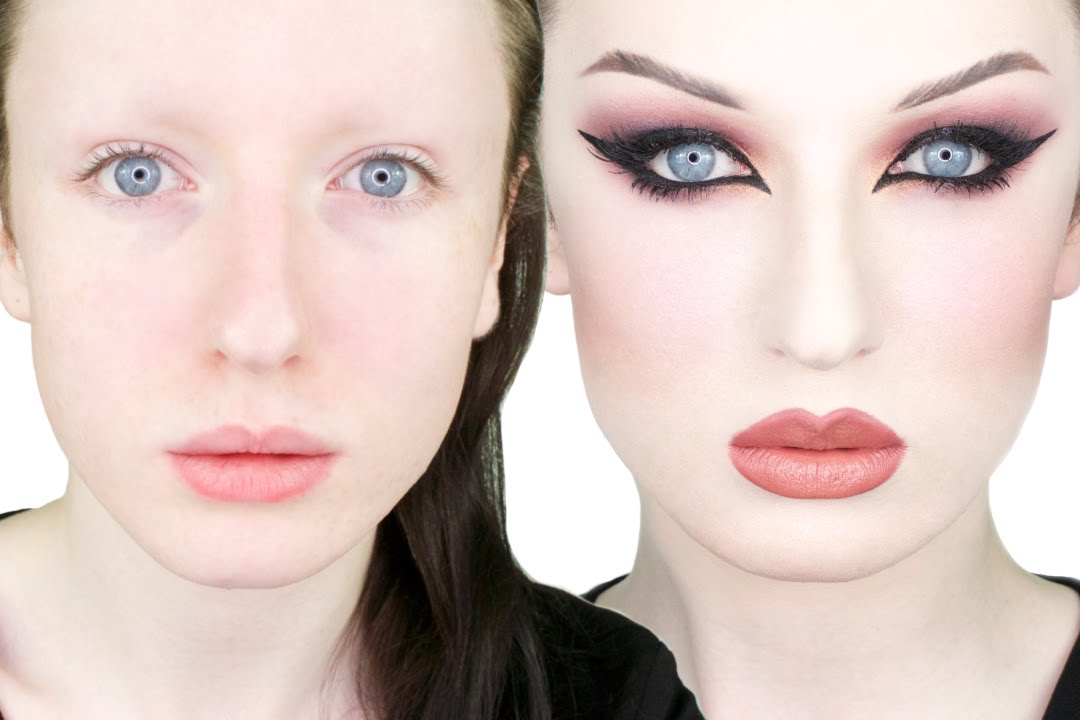 Extreme Transformation - Burgundy Cat Eye Tutorial | John ...