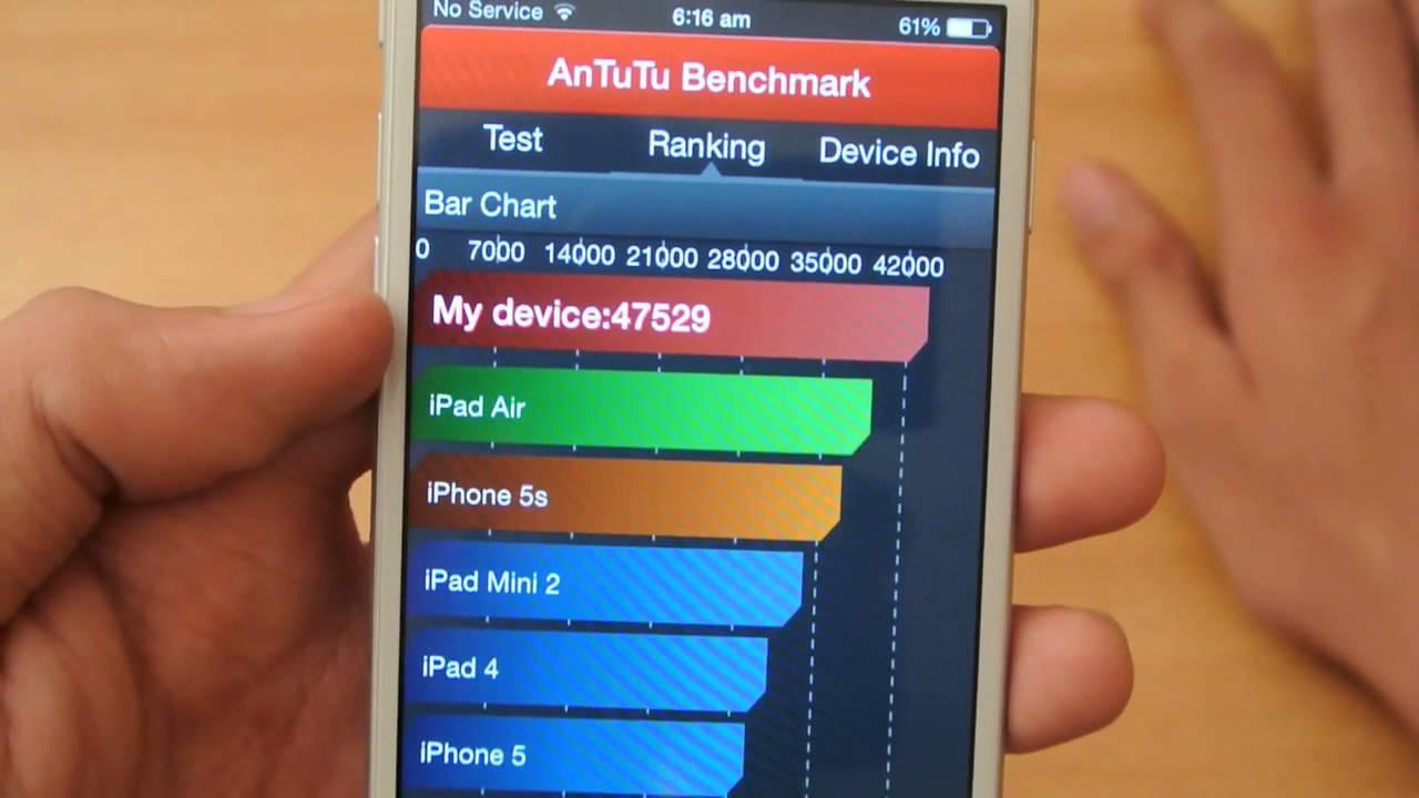 iphone 6 antutu benchmark test hd youtube