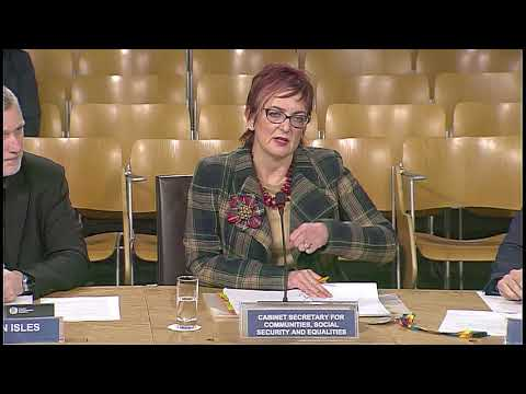 Equalities and Human Rights Committee - 18 January 2018