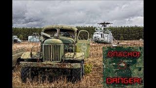 ШОК! Сходили за грибочками ! Заброшенный арсенал военной техники в лесу в Подмосковье!(, 2016-04-06T19:58:49.000Z)