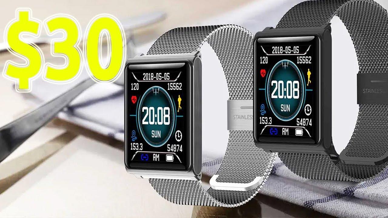 Best Budget Smartwatch 2019 5 Best Cheapest Smartwatches Under $30   Top Budget Smartwatch To