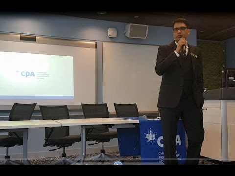 CPA Ontario and ICAP Canada Chapter joint information session on new MoU (1 of 3)