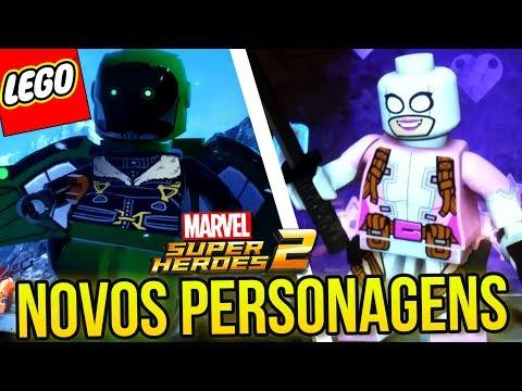 LEGO MARVEL SUPER HEROES 2 - 10 NOVOS PERSONAGENS REVELADOS
