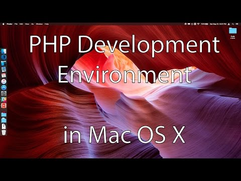Basic PHP Development Environment Setup In Mac OS X