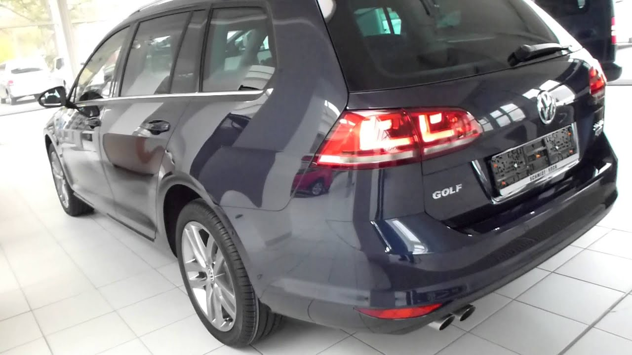 2014 Vw Golf Vii 7 Variant Exterior Interior 2 0 Tdi 150 Hp 211