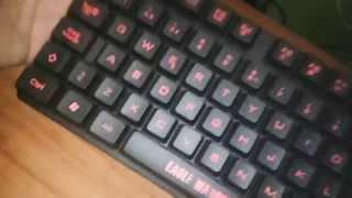 teclado   eagle warrior gaming keyboard g78   hey giobanii unboxing