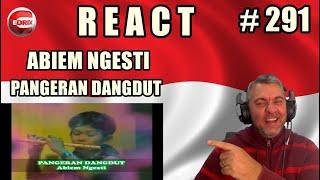 ABIEM NGESTI - PANGERAN DANGDUT - BRAZILIAN REAKSI LAGU INDONESIA (REACTION)