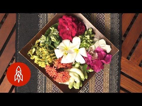 Dừng Chân Hít Hà Hương Thơm Món Hoa Của Thái Lan