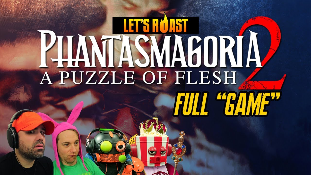Let's Roast Phantasmagoria 2: A Puzzle of Flesh [FULL GAME W/ FUNNY COMMENTARY]