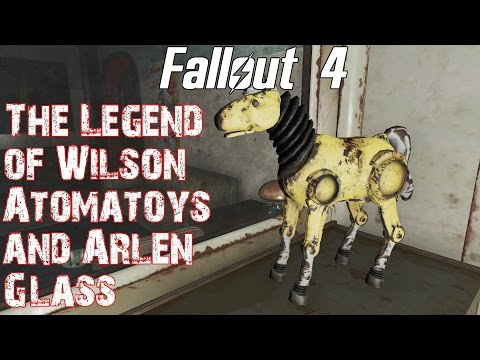 Fallout 4- The Legend of Wilson Atomatoys and Arlen Glass