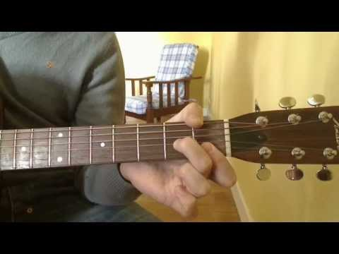 365 Guitar Lessons in 365 Days: 029 - the open Dm7 chord - YouTube