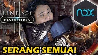 GAMENYA SERU ABIS!! - Lineage II Revolution + Tutorial NOXPLAYER di PC!
