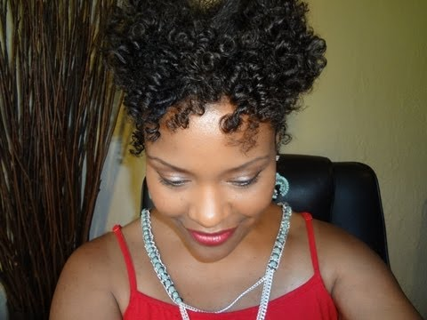 Natural Hair Styles Tutorial Bangin Bantu Knot Out On Fine Hair