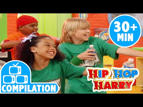 Gulp Gulp Water And More | Kids Song Compilation | From Hip Hop Harry