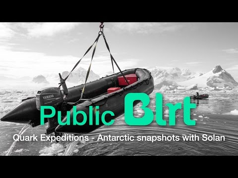Quark Expeditions - Antarctic Snapshots with Solan