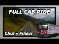 watch he video of Train cab ride RhB Chur - Filisur