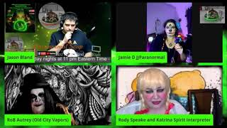 Paranormal Soup Halloween Special 10/25/20 Royal calls in for live ITC Spiritbox
