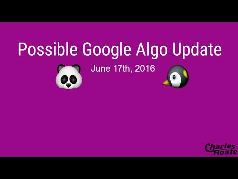 June 17th Possible Google Algorithm Update (SEO) | Charles Floate