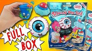 Хлюпати-Ді-лиш дурні Серія 1 повна коробка   повільний підйом рукою Squishies в створ огляд | вірний іграшковий канал